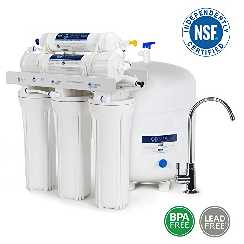 Olympia Water Systems OROS-80 5-Stage Reverse Osmosis Water Filtration System with 80GPD Membrane - NSF Certified by Olympia Water Systems