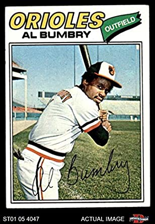 Amazoncom 1977 Topps 626 Al Bumbry Baltimore Orioles Baseball