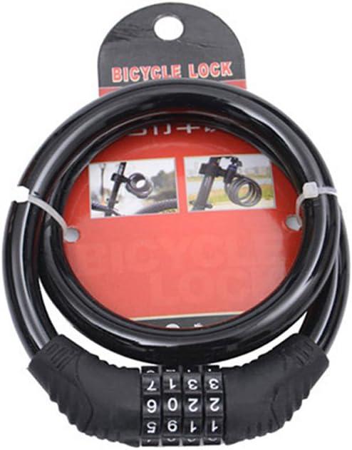 Colore: Rosa con Cavo in Acciaio a 4 cifre scatkinPYwl Lucchetto Antipolvere per Mountain Bike