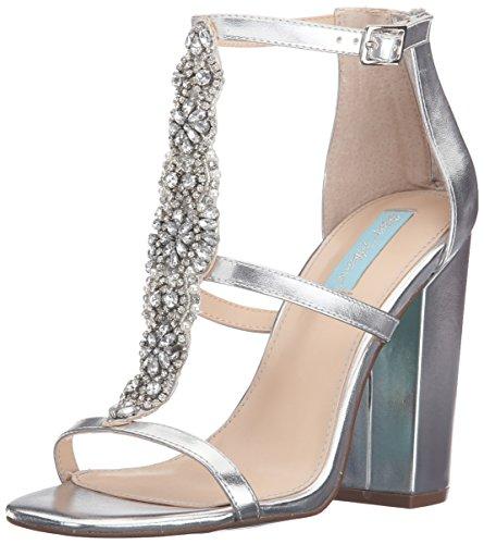 Blue by Betsey Johnson Women's Sb-Lydia  - Silver Metallic Rhinestone Shoe Shopping Results