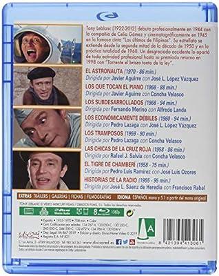 Tony Leblanc [Blu-ray]: Amazon.es: Tony Leblanc, Francisco Rabal, Concha Velasco, José Luis López Vázquez, Alfredo Landa, Varios, Tony Leblanc, Francisco Rabal: Cine y Series TV