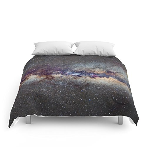 Society6 The Milky Way: From Scorpio And Antares To Perseus Comforters Queen: 88