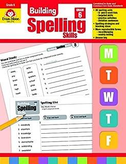 Amazon spelling grade 6 spectrum 9780769652665 spectrum building spelling skills grade 6 fandeluxe Choice Image