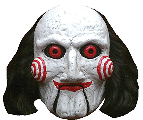 Trick or Treat Studios Men's Saw-Billy Puppet Mask, Multi, One Size ()