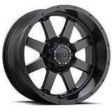 Gear Alloy 726B 17x9 6x135/6x139.7 139.7 Satin Black Wheel Rim