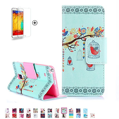 Samsung Galaxy Note 4 Case [with Free Screen Protector], Funyye
