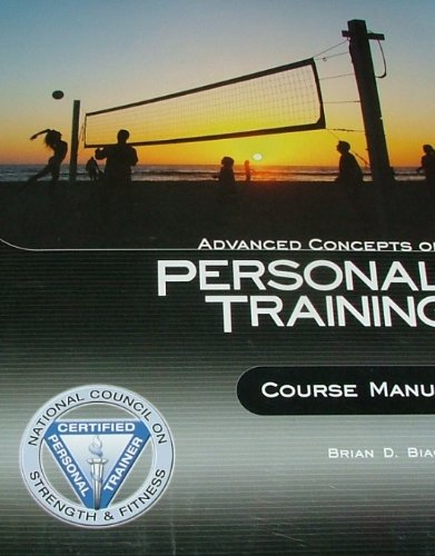 Advanced Concepts of Personal Training; Course Manual (BOOK ONLY)
