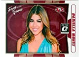Daniella Monet trading card (Actress Trina Vega in Victorious) 2016 Donruss Optic Chrome #5 Fans of the Game