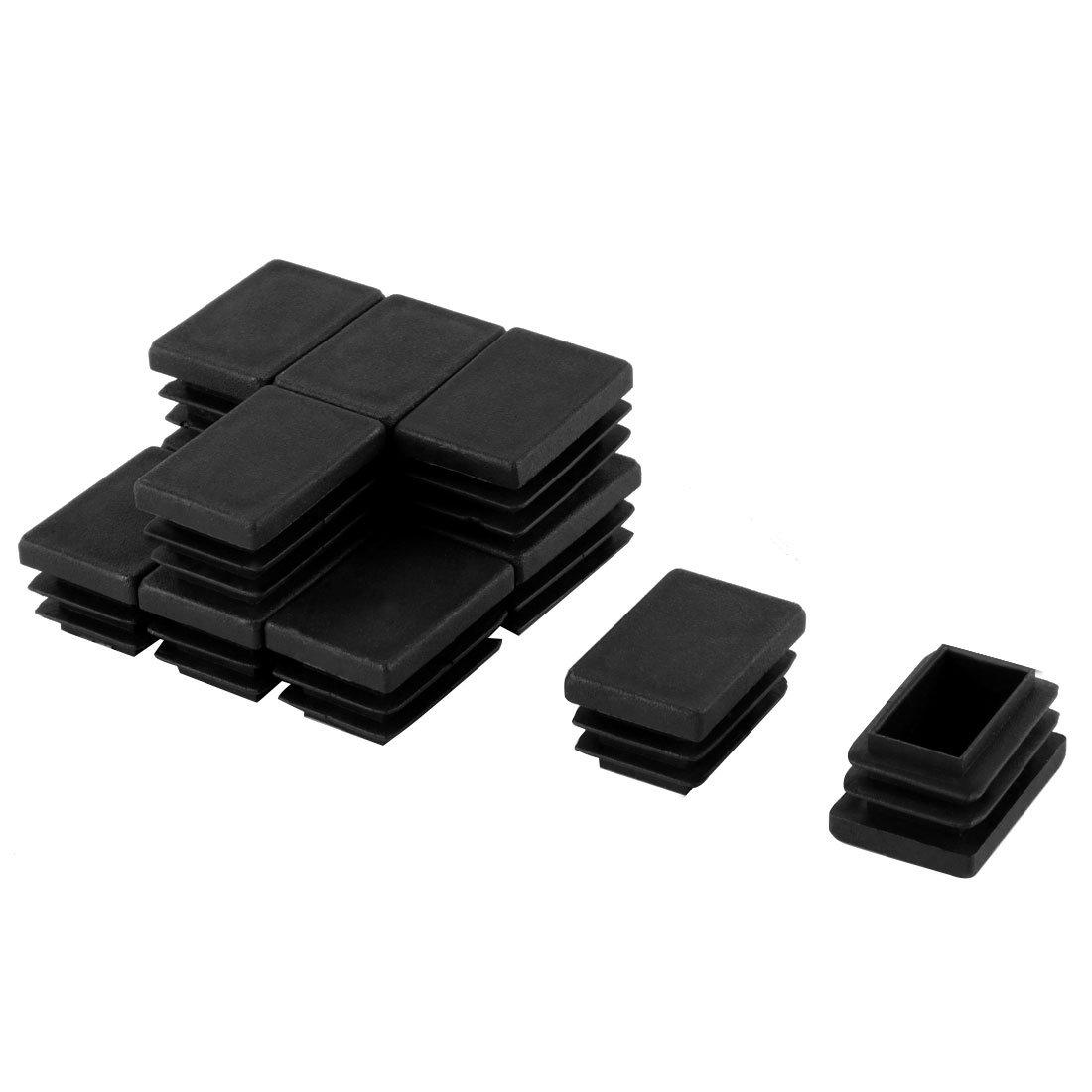 20 millimeter x30 mil/ímetros de grosor para tuber/ías de tap/ón obturador tapas protectoras rectangular tubo conector x 12 piezas
