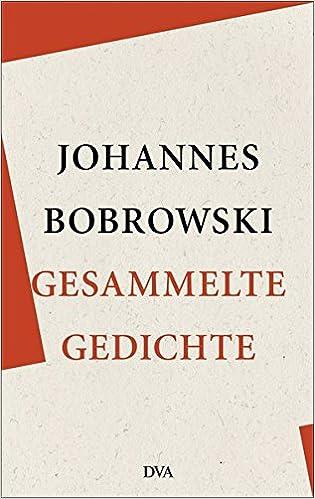 Gesammelte Gedichte Johannes Bobrowski 9783421047625