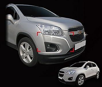 Accessories For Chevrolet Trax Chrome Trim Front Bumper