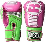 Ringside Apex Flash Sparring Gloves, FTG2 BK/GN