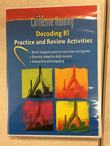 Corrective Reading Decoding Level B1, Student Practice CD Package (CORRECTIVE READING DECODING SERIES)