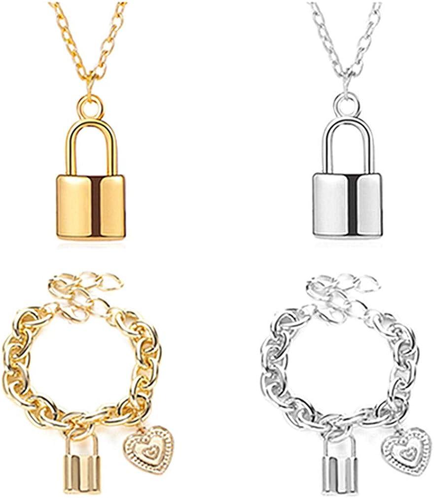 Gold chain bracelet Lock bracelet Gold lock bracelet Lock and key bracelet Dainty lock bracelet Dainty gold bracelet