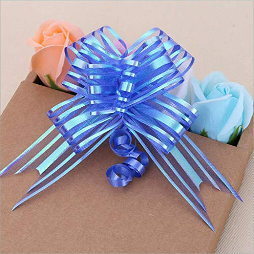 (20pcs Creative Pull Bows Floristry Ribbon Wedding Party Gift Wrapping DIY Craft |Color -)
