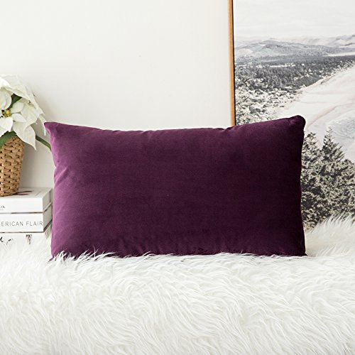Home Sofa Throw Pillow Covers PONY DANCE Light Weight Dyed