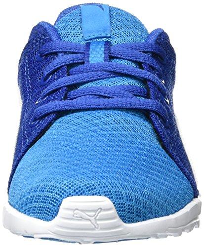 Mixte Blue Carson Puma 02 Basses PS 400 Mesh Sneakers puma White Bleu Danube Enfant Runner Rqfq4a