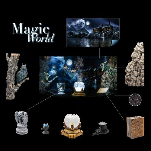 décoration aquarium magic world