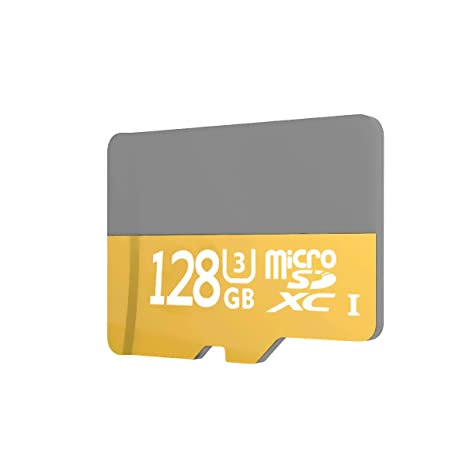 128GB 100MB/s (U3) MicroSD EVO Select Memory Card with Adapter (128G)