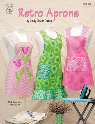 Taylor Made Designs Patterns-Retro Aprons Cure Aprons