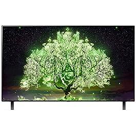 LG 139.7 cm (55 inches) 4K Ultra HD Smart OLED TV 55A1PTZ (Dark Meteo Titan) (2021 Model)