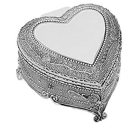 Forma de Corazón Caja Arras de boda con Arras monedas