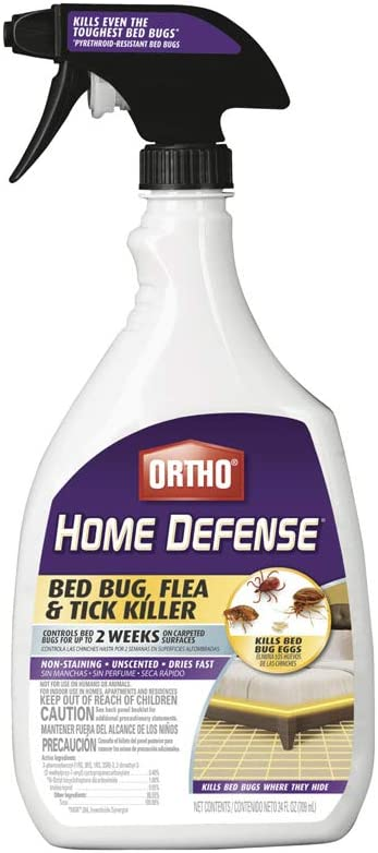 Ortho 0192510 Home Defense Bed Bug Killer, 24 Oz