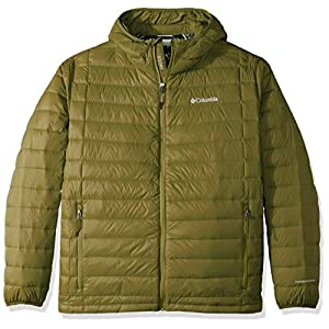 Columbia Men's Big-Tall Voodoo Falls 590 TurboDown Hooded Jacket