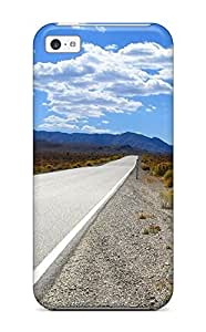 Lmf DIY phone caseShock-dirt Proof The Long Road Ahead To Nowhere Stretching Away Nature Other Case Cover For Iphone 5cLmf DIY phone case