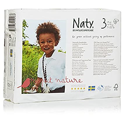 Naty by nature babycare – Pañales – Talla 3 – Lote de 3 paquetes (93