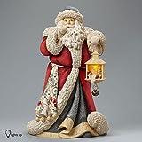 Enesco Heart of Christmas Deluxe Santa Masterpiece Figurine, 16.34-Inch