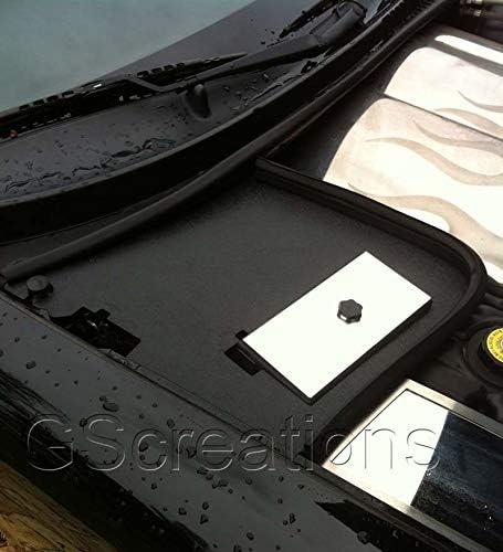 1997-2004 C5 Corvette Battery Den Cover Textured Black