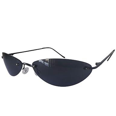 Amazon.com: Gafas de sol para hombre con montura delgada ...