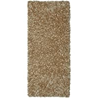 Beige Shimmer Shag (2x5) Runner with
