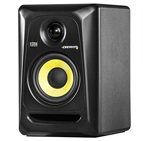 KRKG4G3 4'' High Performance Studio Monitors (Black) by Gibson Pro Audio