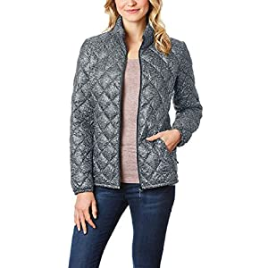 32 DEGREES Women's Nano Light Down Packable Diamond Quilted Jacket- Cloud -S