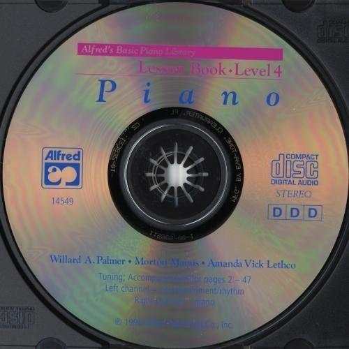 Descargar Libro Alfred 00-14549 Piano Curso B-sico-cd Para La Lecci-n Del Libro-nivel 4 - Music Book Desconocido