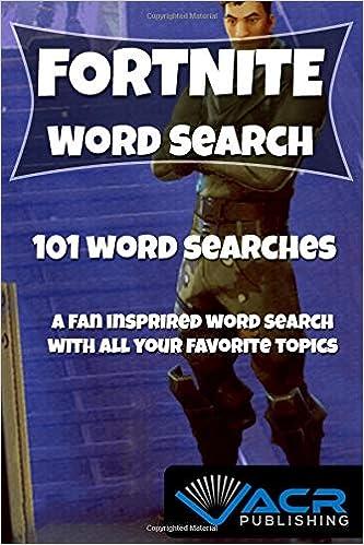 fortnite word search