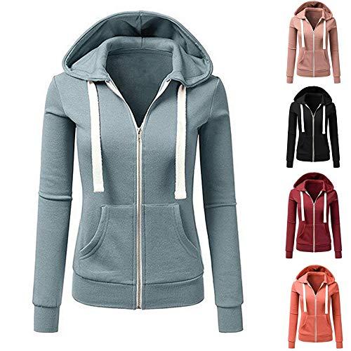 Sweats Chaud Pullover À Top Coat Femme Casual Orange Hooded Blouse Veste Capuche Elecenty wtq4IWU4