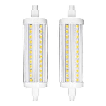 Ampoules DimmablePour 240v 10w 118mm Ampoule Linéaires Projecteur Extrémité J118 LedVaxiuja R7s À Halogènes Led 3TFJlcK1