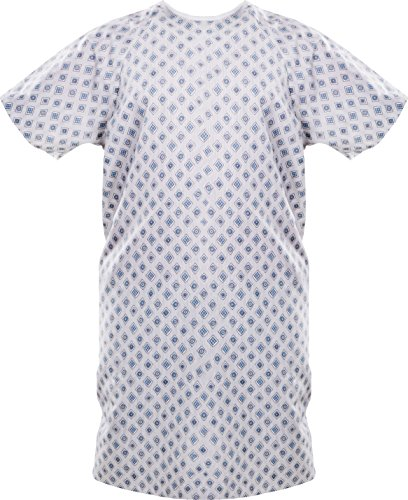 Plastic Surgery Halloween Costume (Utopia Care Hospital Gown - Patient Gowns Fits All Sizes Up To 2XL - 1)