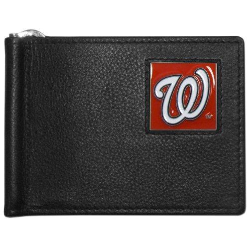 MLB Washington Nationals Leather Bill Clip Wallet