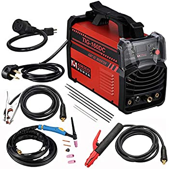 TIG 160 Amp Torch ARC Stick DC Welder 110/230V Dual Voltage Welding Machine New
