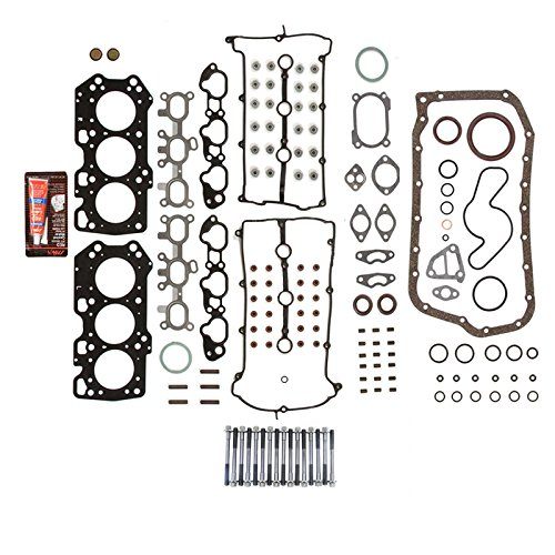 Cylinder Head Bolts For 1993-2002 Ford Probe Mazda MX-6 626 Millenia V6 2.5L DOHC VIN Codes B KL