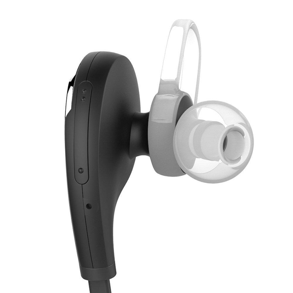 QY8 Bluetooth 4.1 auriculares deportivos Wireless en auriculares in-ear estéreo con micrófono/apt-X para iOS y móviles Android iPad portátil PC Tablet - 7 ...
