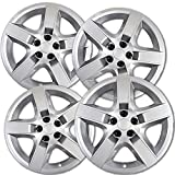 ford 17 hubcaps - OxGord Hubcaps for 17 inch Standard Steel Wheels (Pack of 4) Wheel Covers - Snap On, Silver