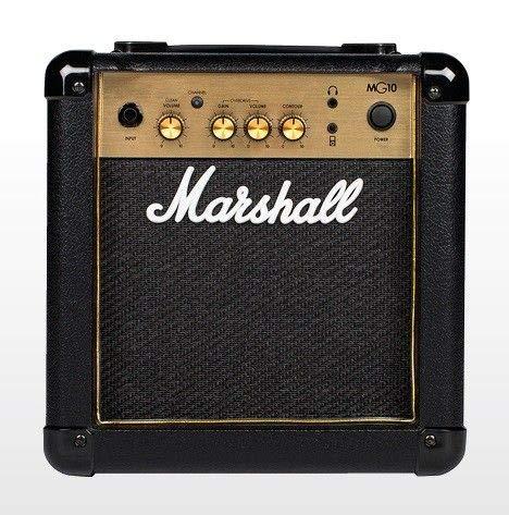 Marshall Amps Guitar Combo Amplifier (M-MG10G-U) (Mini Amplifier Guitar Marshall)
