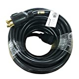 Parkworld 692293 Generator 4-Prong 30A NEMA L14-30 Extension Cord 50'