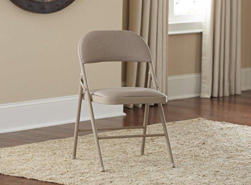 Fabric folding chairs