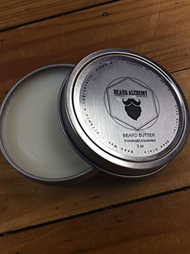 Beard Alchemy Beard Balm / Beard Butter Leave-In Conditioner - 2oz - Unscented